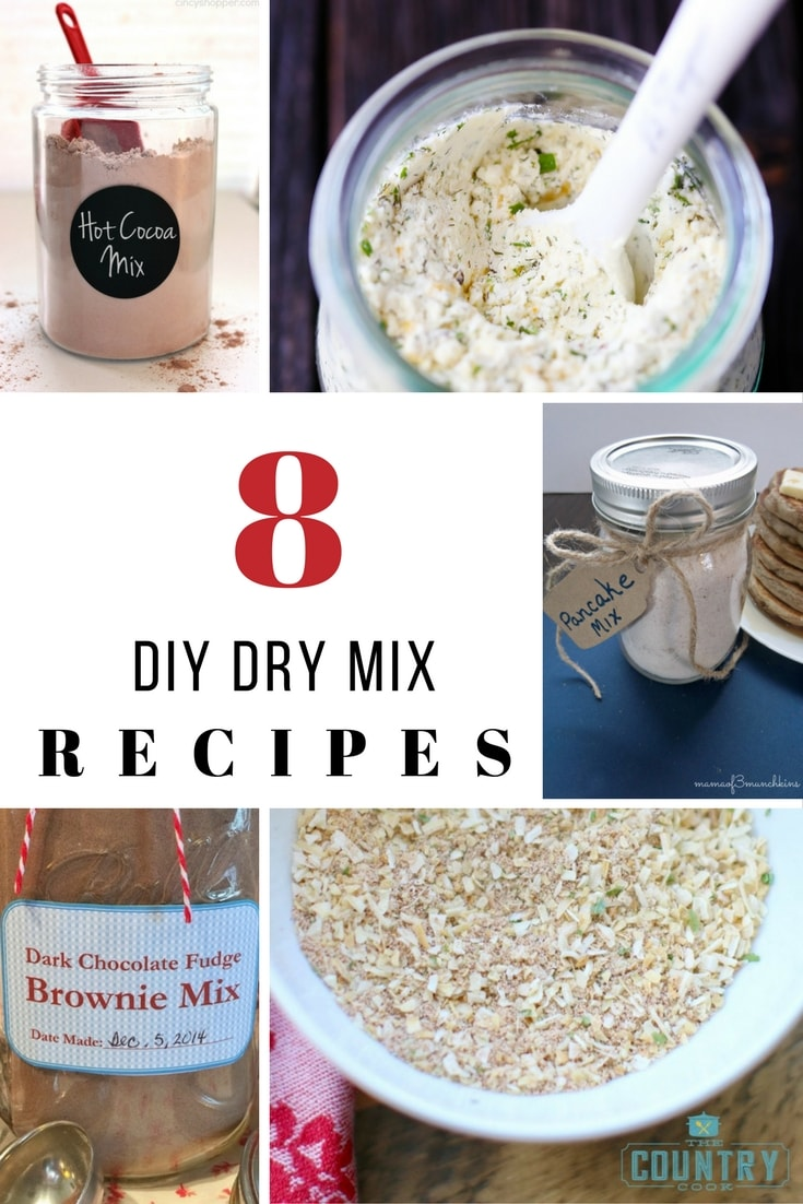 Dry mix recipes save time and money. We found 8 that will help you out.